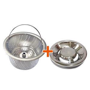 음식물탈수기 한일전기 전용 올스텐거름망+스텐덮개