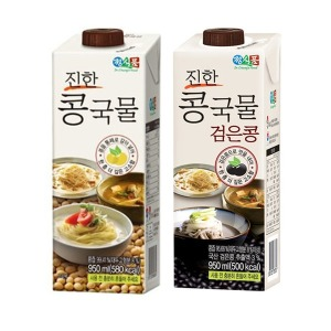정식품/검은콩/진한콩국물/950ml(1팩)X12개/콩물