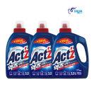 액츠 퍼펙트 액체세제 세탁세제 베이킹소다 3.5L 3개