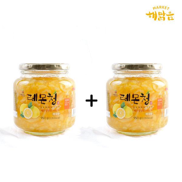 새콤달콤 레몬청+레몬청_과일청1+1 홈메이드방식