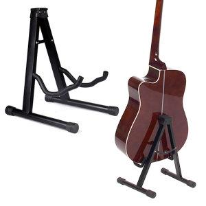 기타스탠드 접이식 A자형 기타거치대 블랙