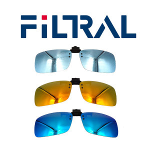 FILTRAL 클립 선글라스 클립형 편광 미러렌즈