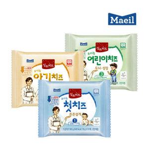 (현대Hmall)매일유업 상하치즈 유기농 첫치즈 / 아기치즈 / 어린이치즈 본품 100매