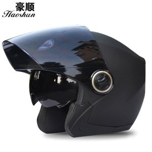 헬멧 더블 렌즈 남성 전기 오토바이 패션헬멧