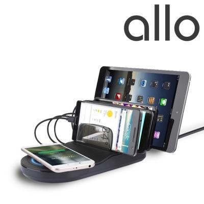 [알로코리아] 멀티 휴대폰 고속 급속 무선 충전기 거치대  UC450WQC
