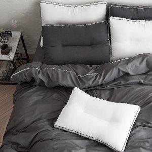 라뽐므 NORVIK 이불커버 퀸180x220 먼지없는 호텔식침구