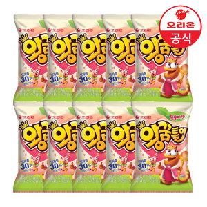 오리온 왕꿈틀이 복숭아맛 67gx10개