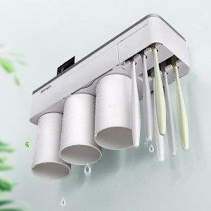 원스탑 욕실용 수납홀더 자석 거꾸로 양치컵 칫솔꽂이