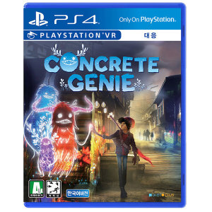 PS4 콘크리트 지니 한글 초회판(아바타+테마)/PSVR대응