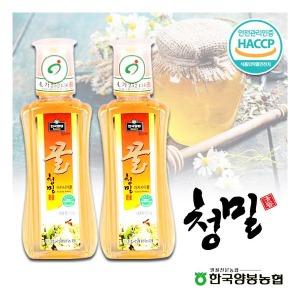 (현대Hmall) 양봉농협 청밀 아카시아꿀 500g 2/HACCP인증