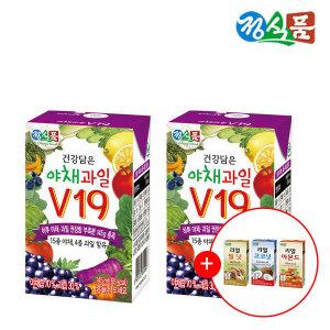 베지밀건강담은야채과일V19 145ml 48팩+음료1박스증정