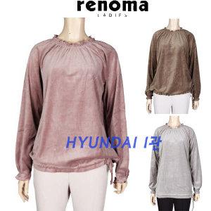 (현대백화점) 레노마레이디  CX36TS750 벨벳 긴팔 티셔츠