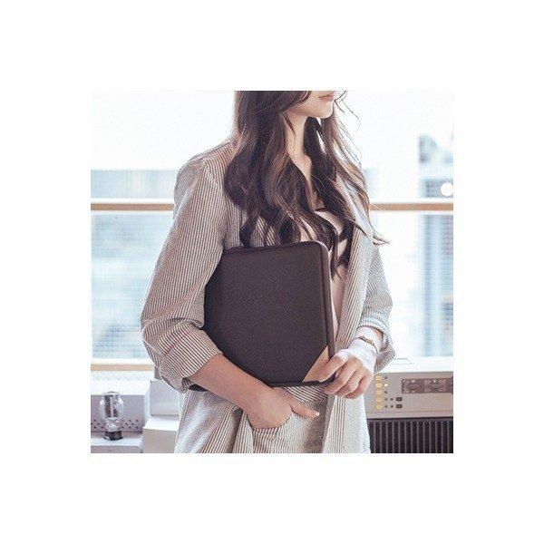 바투카 바렌체 레더 맥북에어 파우치 11.6/13.인치-Chocolate