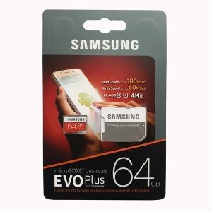 삼성 MicroSDXC64GB PLUS U3 4K 국내정품ㄴ