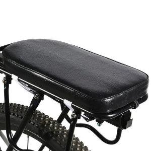 짐받이 보조안장 쿠션 뒷안장 하대 자전거 뒷좌석쿠션