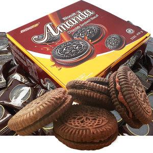 1박스(60개입) 아만다 초콜릿크림 샌드 대용량