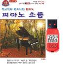 USB 피아노 소품 클래식 36곡 효도라디오 차량용 mp3 T