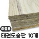 SK 태권도송판-아동용 6mm 10개입 1세트