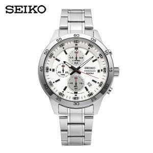 세이코 SEIKO  SKS637P1 / 크로노그래프 남성용 메탈시계 44mm