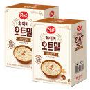 포스트 화이버 오트밀 너트앤오트 6개입 2개
