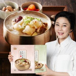 김나운더키친 김나운 도가니탕 5팩+ 우건도가니수육 5팩