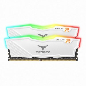 T-Force DDR4 16G 25600 CL16 Delta RGB 8Gx2 화이트