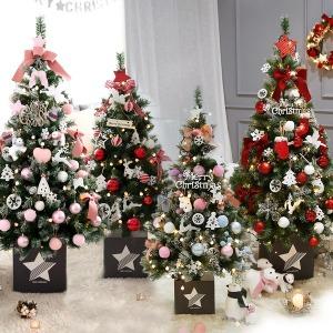 크리스마스트리 1.3-1.6M 장식소품 전구 풀세트