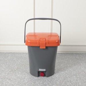 업소용 10L 음식물쓰레기통 배수구멍 스티커부착용