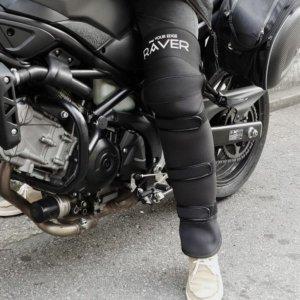 RAVER 오토바이 겨울 방한 무릎 레그워머 토시