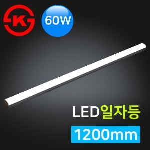 LED 일자등 1200mm/60W/거실등/주차등/사무실/공장