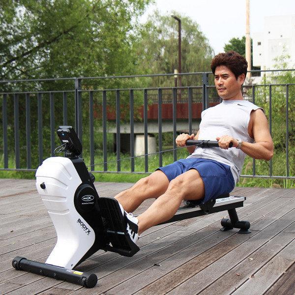 바디엑스  가정용 로잉머신 R2  유산소 노젓기 전신운동 근력운동