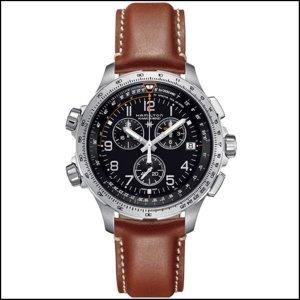 타임플래닛 해밀턴 H77912535 HAMILTON 가죽밴드 시계