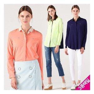 르오트  믹스앤매치 컬러블록 엣지셔츠 4종택일