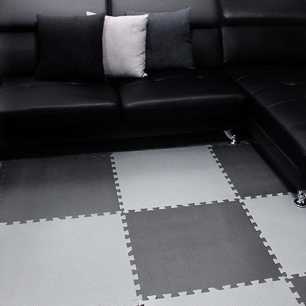 모던감성 EVA 퍼즐매트 컬러/우드무늬 층간소음 바닥