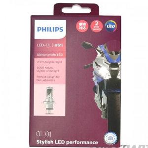 필립스Ultinon Moto LED오토바이 헤드라이트전구(H4)