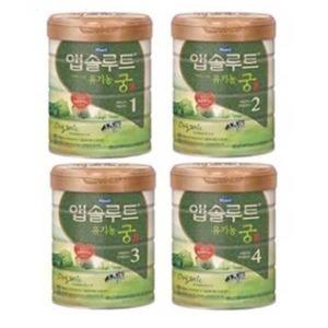 매일유업 앱솔루트유기농궁800g3캔.당일발송(정품)
