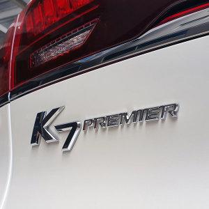k7프리미어 엠블럼 PREMIER 레터링 크롬 레드