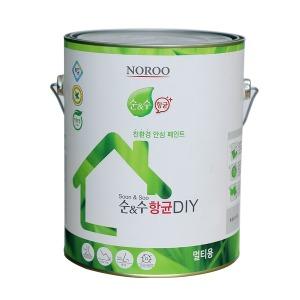 순앤수 항균페인트 DIY 멀티3.8L 방문/목재/벽지/벽면