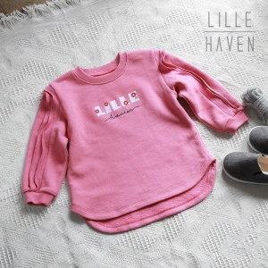 릴헤븐  유아 티셔츠-젤리프릴 롱 핑크