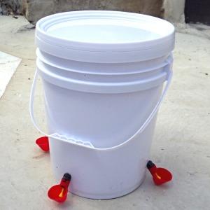 자동 급수컵세트 급수통 닙플 닭물통 닭모이통 닭용품