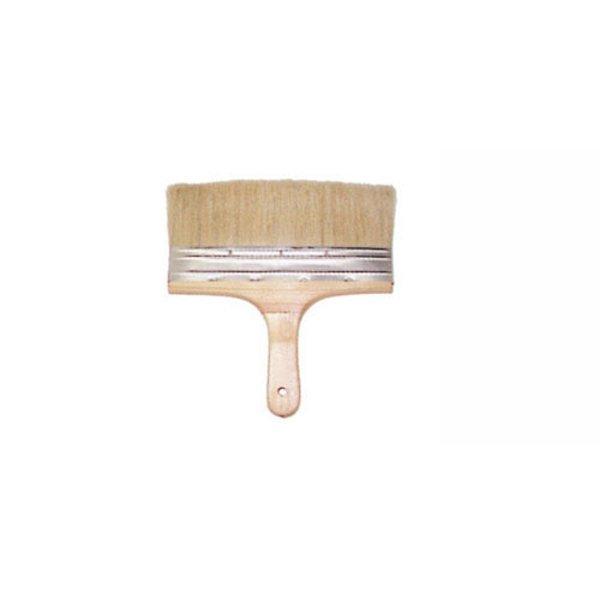인우연마-미장솔 8 - (통(10EA)) 나무브러시 미장도구