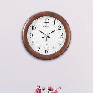 카파시계  (당일무료발송/불량맞교환AS) 카파 W640 무소음 원목 대형벽시계 국내산 원