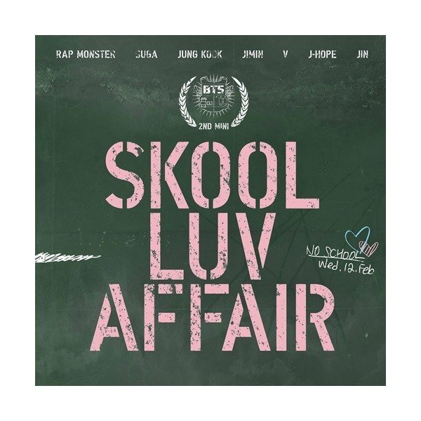 방탄소년단 - Skool Luv Affair (미니앨범) (북클릿 115P + 포토카드 랜