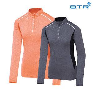 BTR  슬림라인 긴팔 티셔츠 노이즈(여) BNT0416W