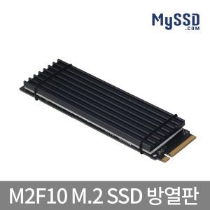 MYSSD M2F10 M.2 SSD 방열판 히트싱크 은도금카본합금