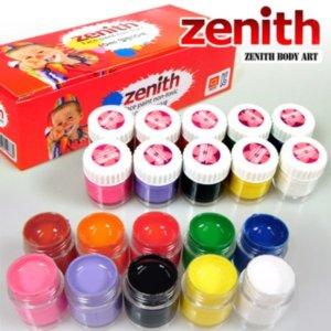 zenith 페이스페인팅 일반10색 10ml x 10 이벤트용품