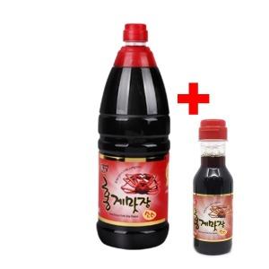 홍게맛장소스 1.8L 홍게간장 맛간장 고급요리 홍게숙성