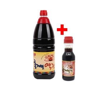 홍게맛 액젓 1.8L 홍게간장 맛간장 고급요리 홍게숙성
