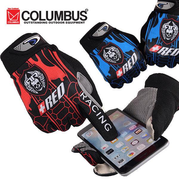 콜럼버스  PLUS RED 자전거 장갑/싸이클 장갑/터치장갑