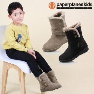 페이퍼플레인키즈  PK7786 아동 겨울 부츠 털 패딩 방한 운동화 아동화 주니어 신발